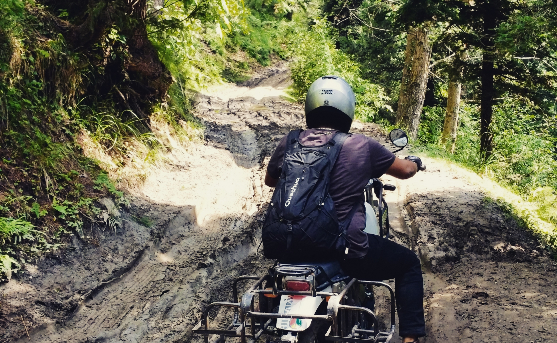 tough road lead you to awesome places - Royal enfield Himalayan