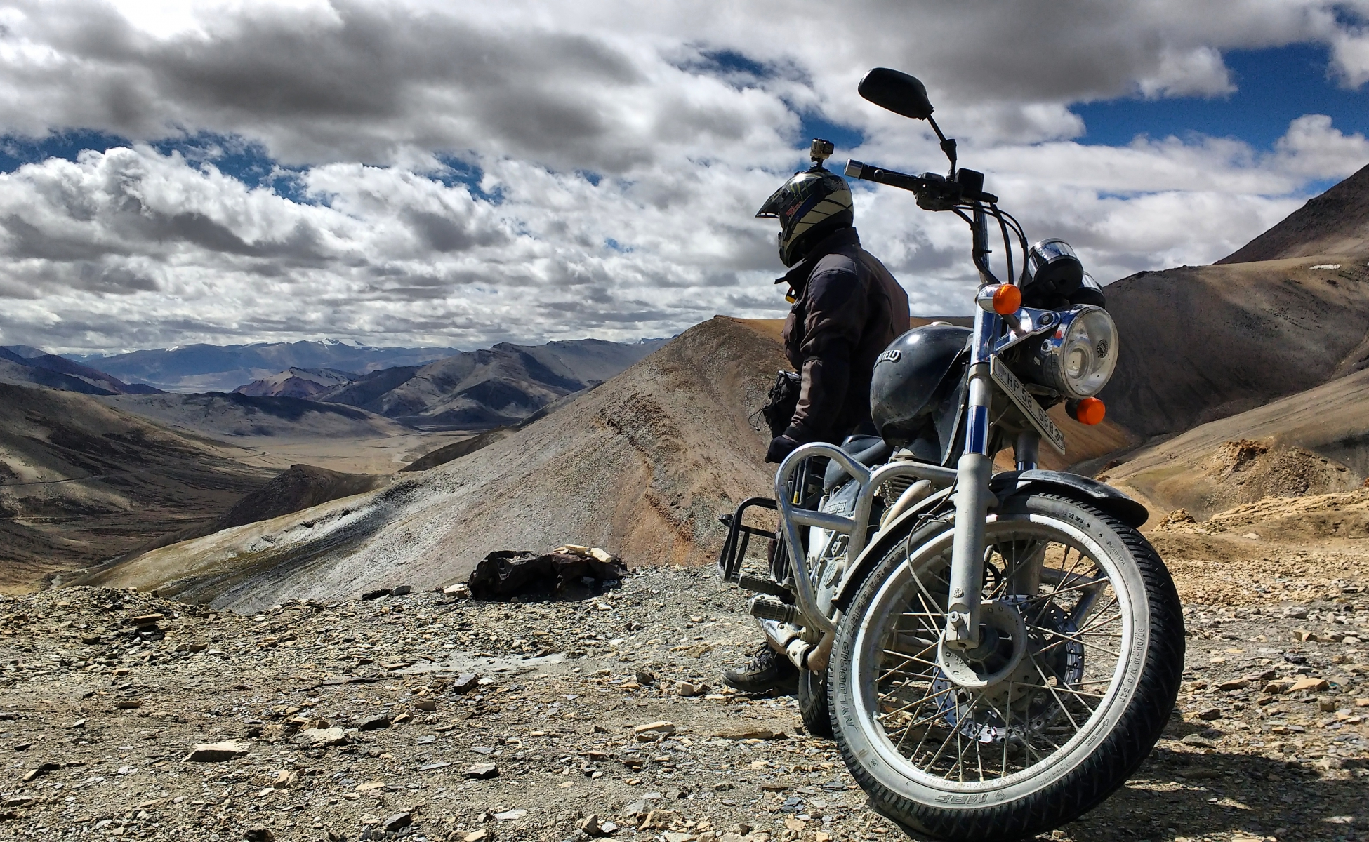 On the heights of ladakh